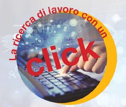 La ricerca di lavoro con un click