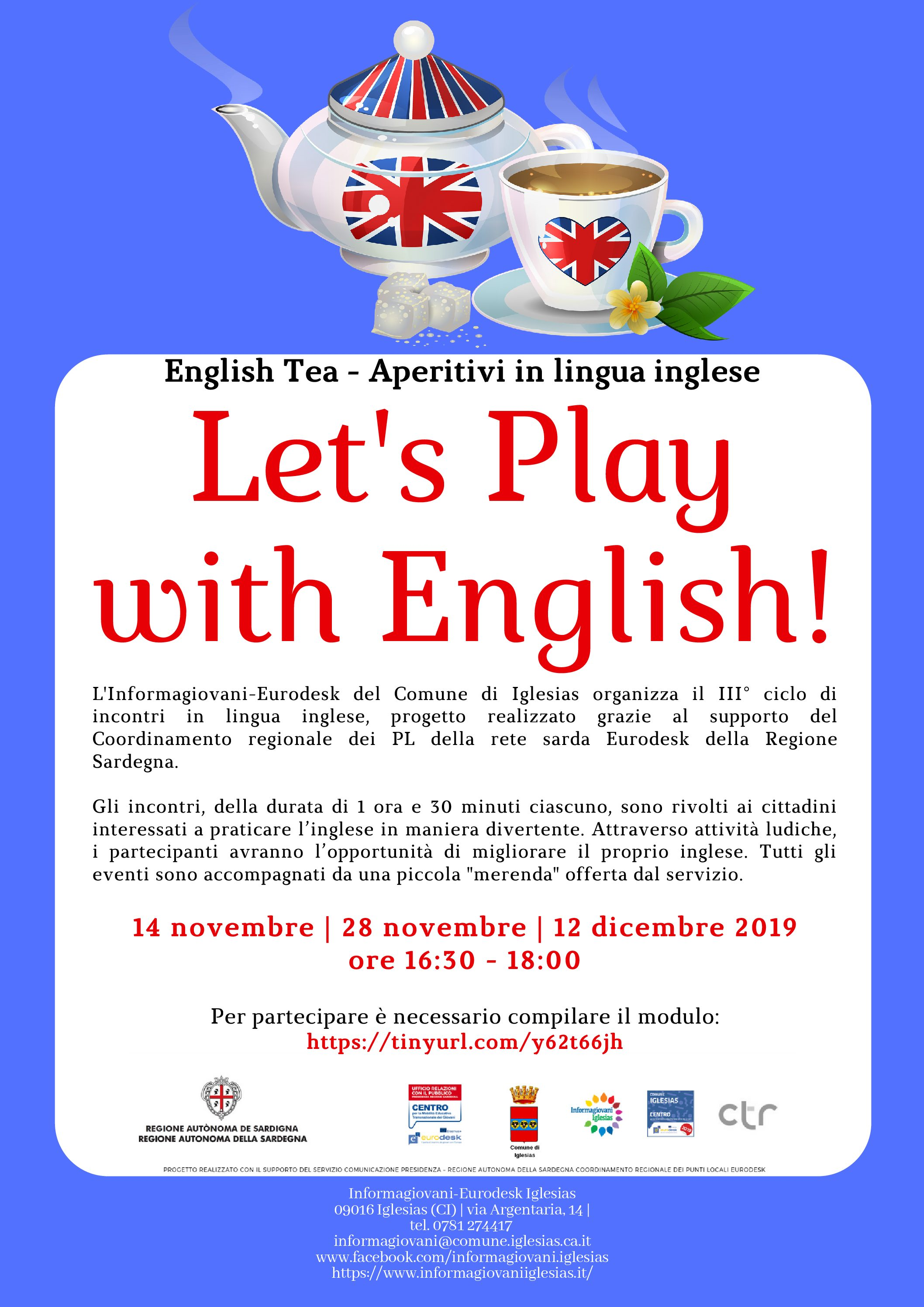 English Tea – Let's Play with English!