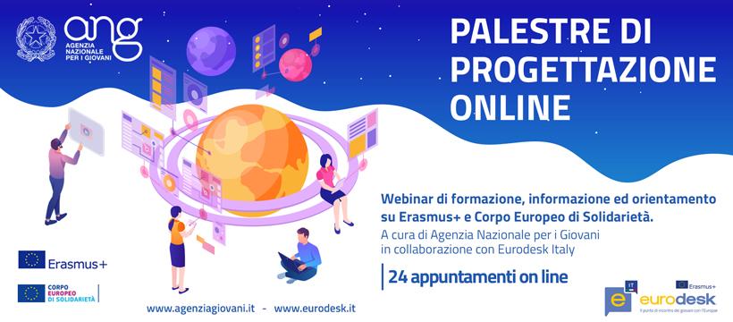 Palestre di progettazione: seminari gratuiti organizzati dall'ANG e Eurodesk per associazioni e giovani