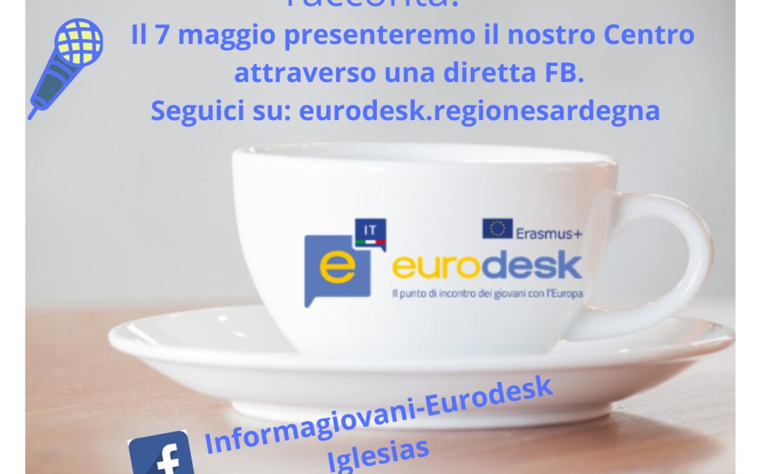 Un caffè con Eurodesk: Giovedì 7 maggio ore 16:00