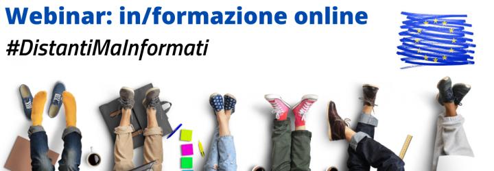 #DistantiMaInformati: ciclo di seminari gratuiti su opportunità per i giovani