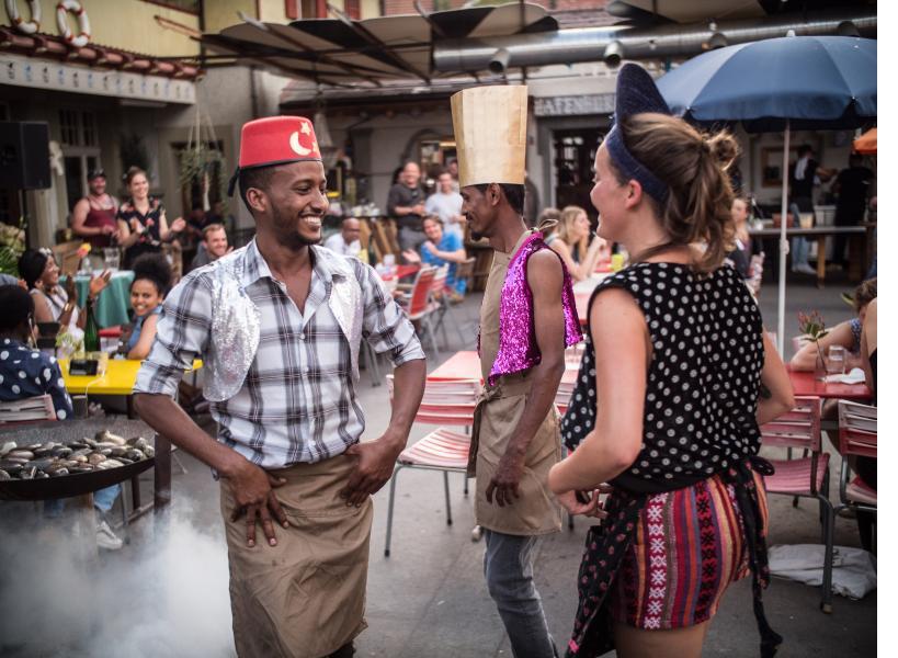 Opportunità in Svizzera presso Heitere Fahne, centro culturale per l'inclusione sociale