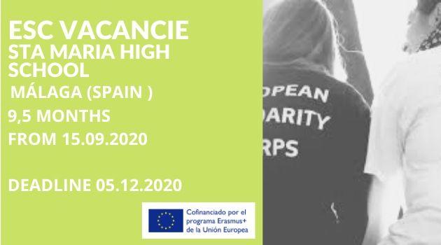 Opportunità a Malaga presso un istituto di formazione professionale
