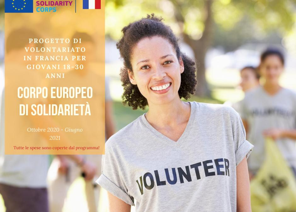 Opportunità a Quimper, Francia con il Corpo europeo di Solidarietà – Eventi Culturali in Ambito Sociale
