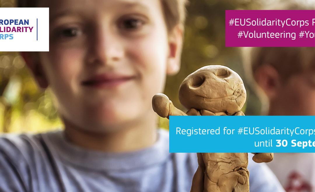 """Concorso fotografico #EUSolidarityCorps """"Il mio momento magico con il Corpo europeo di solidarietà"""""""